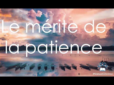 Le mérite de la patience