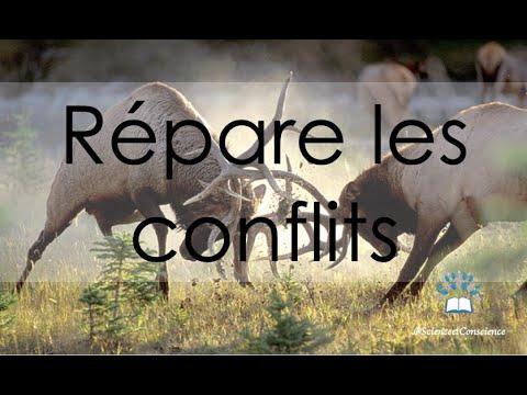 Répare les conflits, que Dieu te renforce
